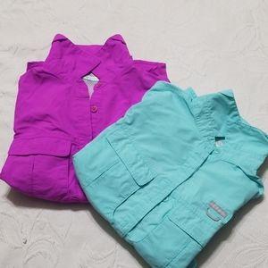 Columbia Short Sleeve Hiking Shirts Bundle